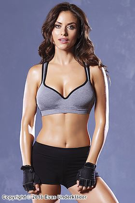 Sport-BH med push-up, 1